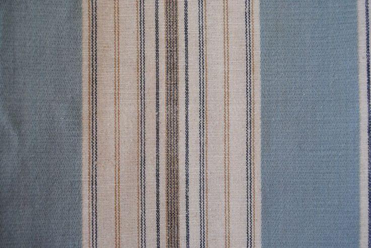 Victoria Stripe Sky 100% cotton - 137cm