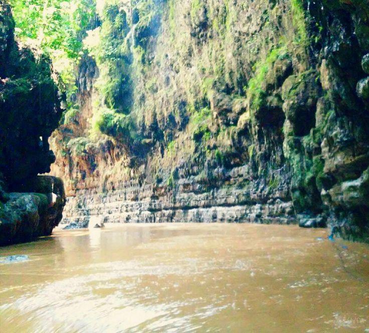 Green Canyon, Pangandaran, West Java, Indonesia #LG #LFino #Picsart #PSTouch #Landscape #Pangandaran