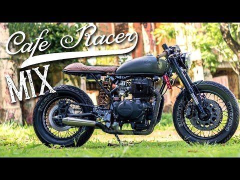 Cafe Racer (Honda CB 400 by Retrorides By Lourenço) - YouTube