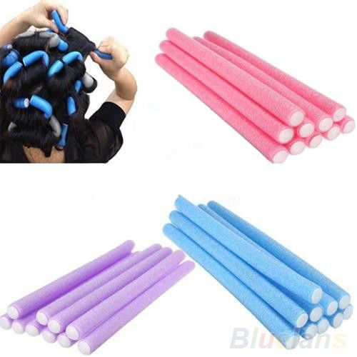 10Pcs-Curler-Makers-Soft-Foam-Bendy-Twist-Curls-Tool-DIY-Styling-Hair-Rollers-B2