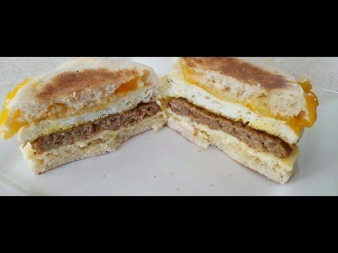 Air Fryer Sausage Egg Amp Cheese Breakfast Sandwich Cook S Essentials 5 3q Air Fryer Recipes