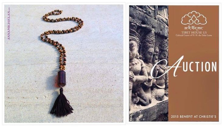 Celebrate another year of one-of-a-kind items and experiences at the 13th Annual @Tibet House US Benefit Auction at @Christie's on the 3rd of Dec! Our contribute for the auction is Amber Pearls and Tiger Eye Mala by Anna Michielan for Oishii. #mala #amber #pearls #tigereye #necklace #accessories #pendant #annamichielan #oishii #healing #jewelry #forthesoul #tibetanhouse #YokoOno  #sting  #HughJackma #MartinScorsese #NY #NYC #newyork…