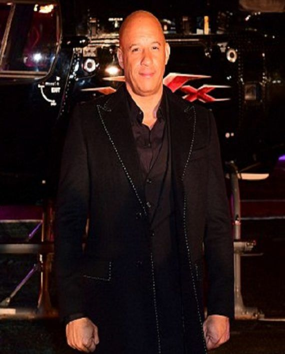 Vin Diesel xXx 3 Movie Premiere Coat
