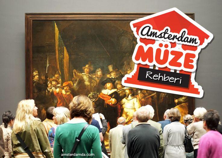 Amsterdam'da Van Gogh Müzesi'nden Film Müzesi'ne hatta Çanta Müzesi'ne 53 farklı müze bulunur. #amsterdam #müze #tatil #şehirrehberi #amsterdamtatili #sanat #tatil #hollanda