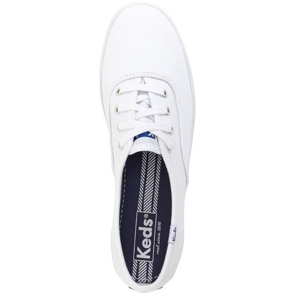 Women's Keds 'Champion' Canvas Sneaker ($40) ❤ liked on Polyvore featuring shoes, sneakers, cotton shoes, breathable shoes, keds shoes, canvas sneakers shoes and breathable sneakers