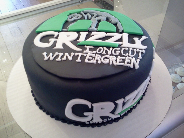Grizzly Dip Can Cake loveeeee