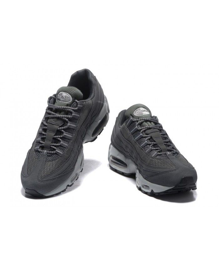 Homme Nike Air Max 95 Dark Grise Wolf Grise Noir 609048 Chaussures