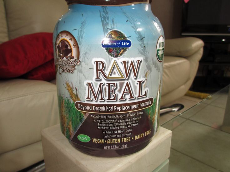 Raw Meal Beyong organic meal replacement formula (100% raw, vegan). It has everything you need in one except Maca powder (so you can add it as an extra)