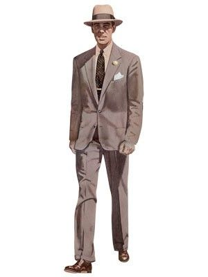 1958 Men's Neapolitan suit