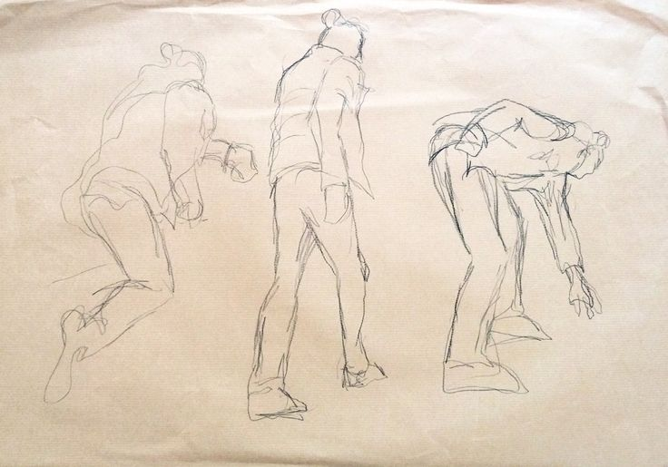 Jean Chiodi. Carvão s/ papel kraft, 42 x 59,4 cm