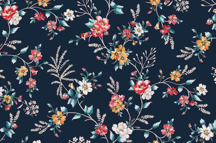 Podívejte se na tento projekt @Behance: \u201cFW1617 Flower Print\u201d https://www.behance.net/gallery/46189805/FW1617-Flower-Print