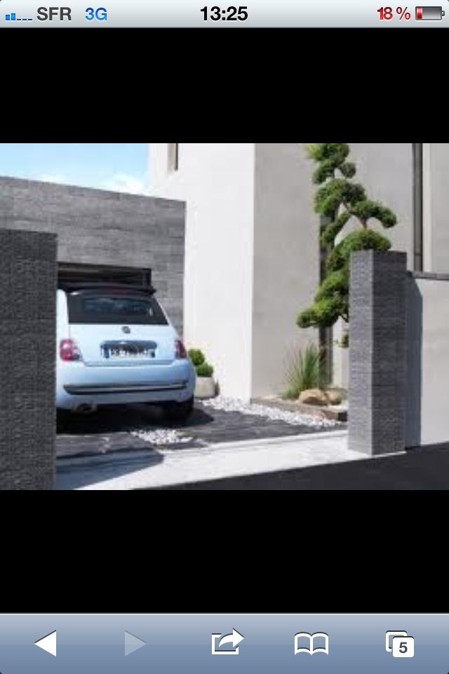 15 pingles pilier portail incontournables pilier de portail installation portail coulissant. Black Bedroom Furniture Sets. Home Design Ideas
