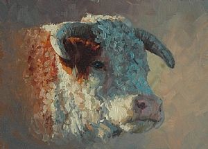 Hereford Bull ~ Jim Clements