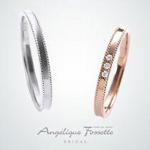 2本で10万円以下の結婚指輪をお探しの方必見☆流行のデザインをお得に手に入れて!(アンジェリック フォセッテ ブライダル)|ゼ…