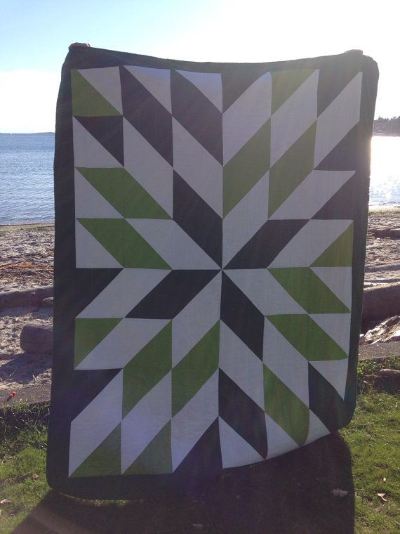Could be baby sized - Modern Queen Size Quilt