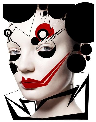 alex box by rankin #makeup #beauty