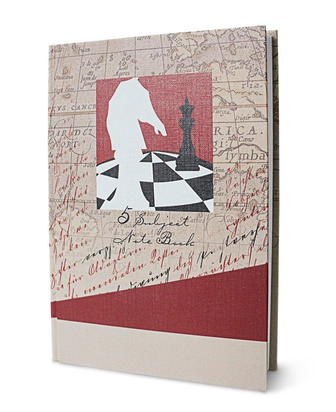 Inscribe 5 Subject Notebook - C, Pen down five different themes, all in one notebook.