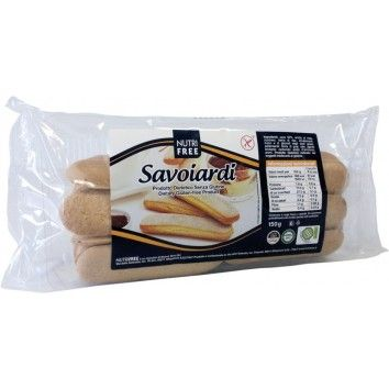 Μπισκότα Σαβαγιάρ 150gr Nutri Free