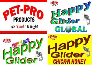 PACK 3 MIX PELLETS PET PRO HAPPY GLIDER GLOBAL + HAPPY GLIDER FRUITTY + HAPPY GLIDER CHIKEN&HONEY http://www.todopetauros.com/gb/home/118-pienso-petauro-happy-glider-pack-mix-3-sabores.html