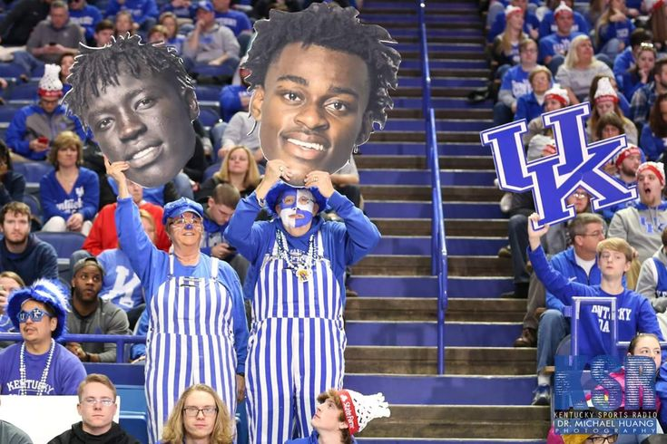 Yes, we are CrAzY...ESPN College Game Day at Rupp Arena today.