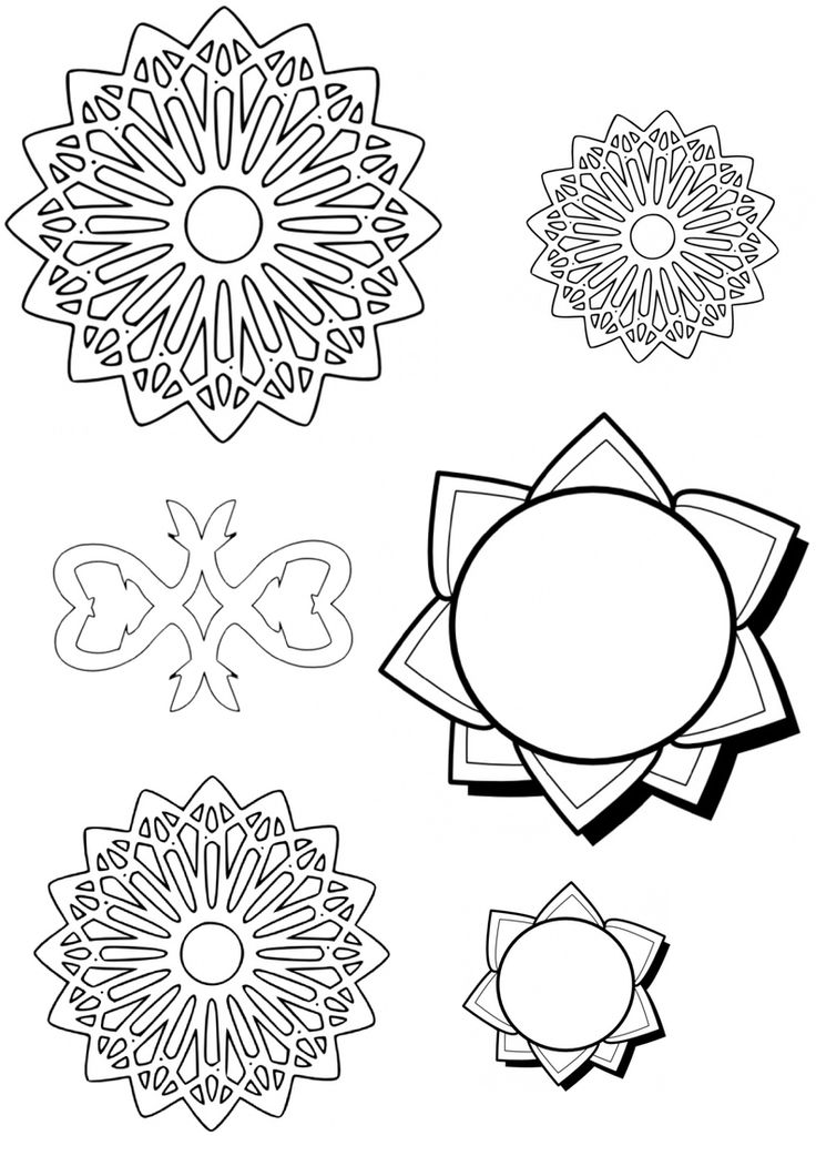 Ramadan printables - Islamic designs colouring sheet from intheplayroom.co.uk