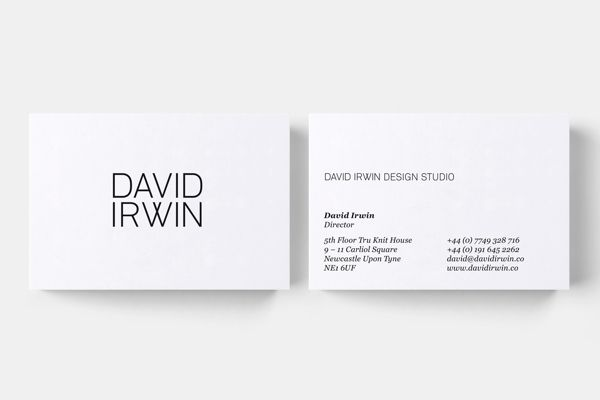 407 best business cards images on pinterest visit cards business beautiful simplicity from design studio david irwin logo designer reheart Image collections