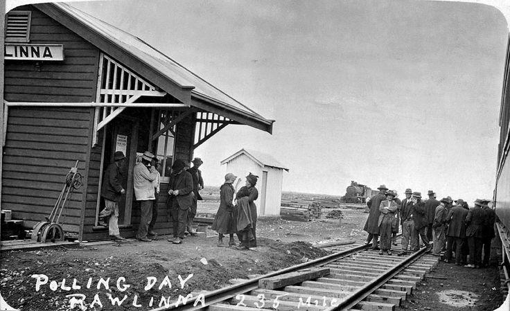 It's Polling Day at Rawlinna, 1916 https://encore.slwa.wa.gov.au/iii/encore/record/C__Rb2170251