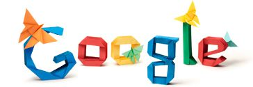 akira yoshiizawa's 101st birthday being honored by google today (march 14th) for introducing the world to ORIGAMI:)