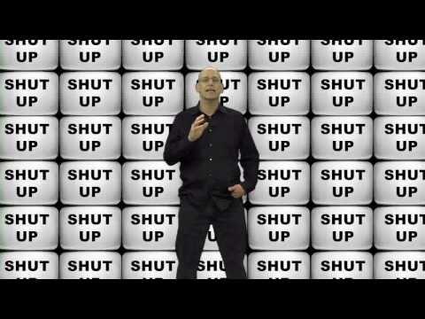 Andrew Klavan: Shut Up.   obama, liberals, democrats, republicans, socialist, fascists, Marxist, teaparty, libertarian, progressives,