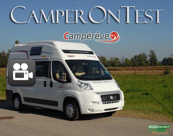 Campérêve Neovan - il VideoCamperOnTest su www.camperonline.com
