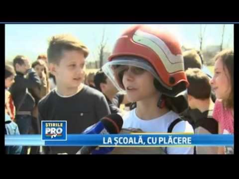 ISU Bucuresti - programul national Scoala Altfel 2013 Pro Tv 03.04.2013