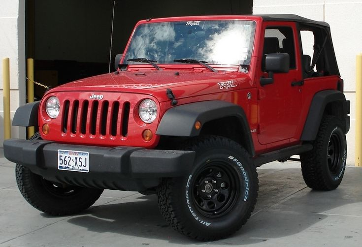new product 36c29 5285a Jeep Wranglers come stock with 3 different tire sizes depeding on what  model, trim, ... air jordan 29 blackout ...