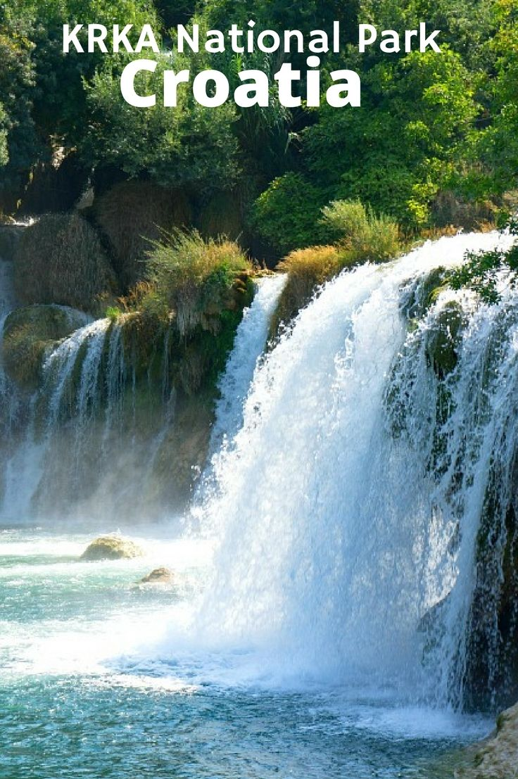 Krka National Park - A not be be missed place in Croatia. Click to find out all about this amazing waterfall filled park.