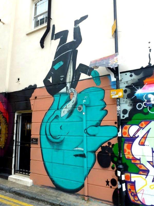 RUN, quand le monde marche sur la tête ! Bricklane, Londres