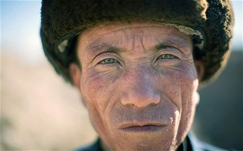 """Genetic testing performed on residents of a remote village in China have shown that they may be descended from a ""lost legion"" of Roman soldiers.  Tests found that the DNA of some villagers in Liqian, on the fringes of the Gobi Desert in north-western China, was 56 per cent Caucasian in origin.  Many of the villagers have blue or green eyes, long noses and even fair hair, prompting speculation that they have European blood."""