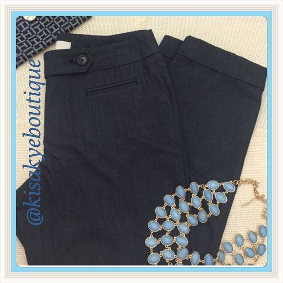 ANN TAYLOR LOFT pants Ann Taylor dark blue pants, like new, very good condition. Ann Taylor Pants