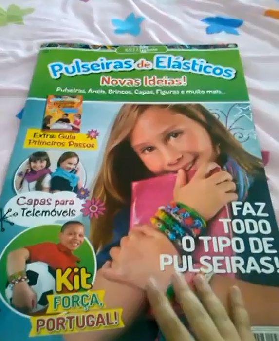 Revista das pulseiras de elasticos numero 1 #Pulseiras de #Elasticos #rainbowLoom