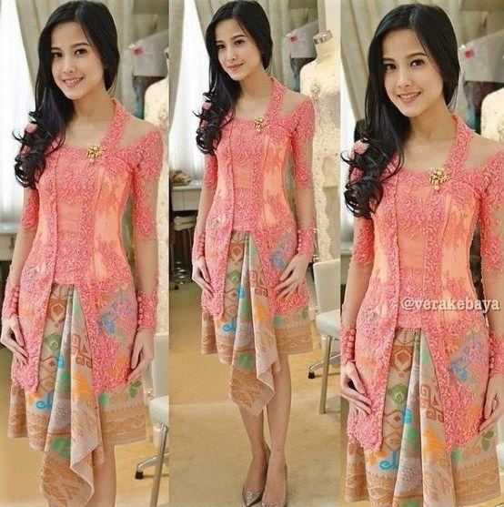 Model Kebaya Kutu Baru Brokat Modern Terbaru Traditional Dress Di