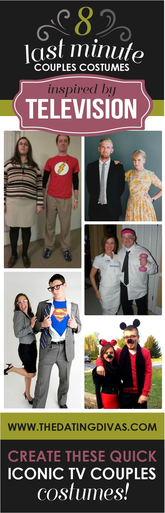 These are clever and SO easy to throw together.  #halloween #costumes