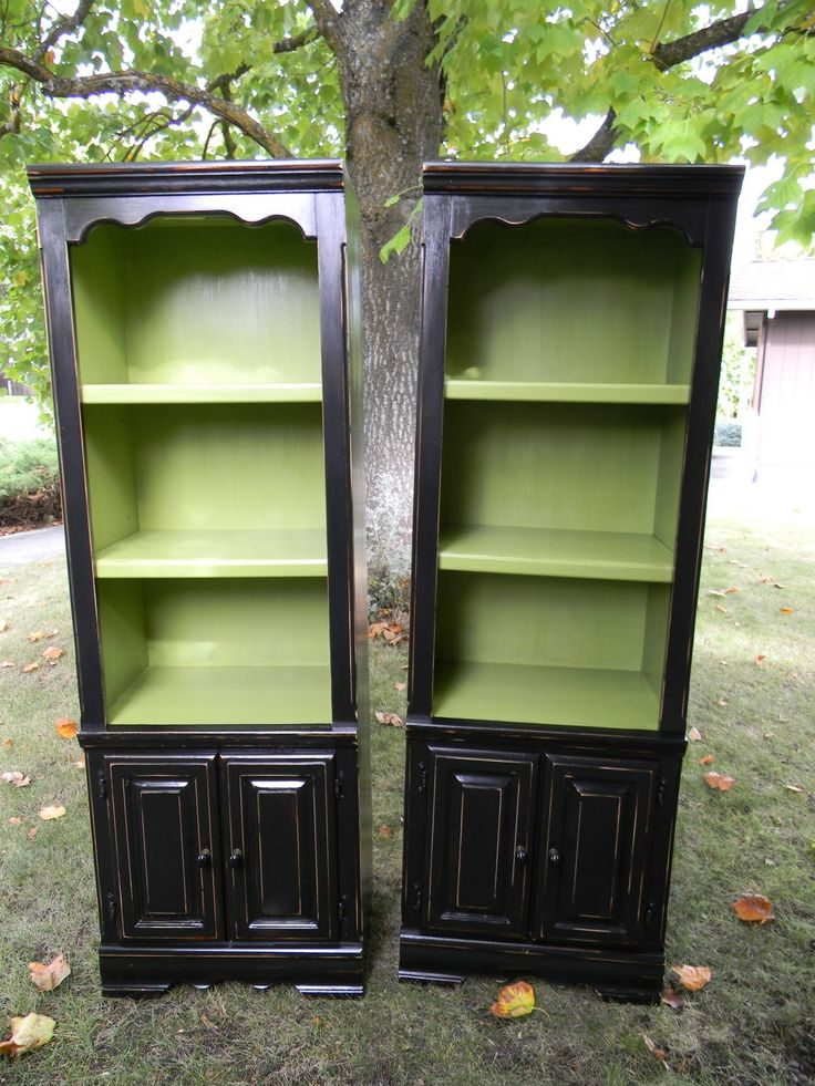 Emily S Up Cycled Furniture Tall Blue Grey Distressed Dresser: For New, Hand-made Entertainment Center. Different Color