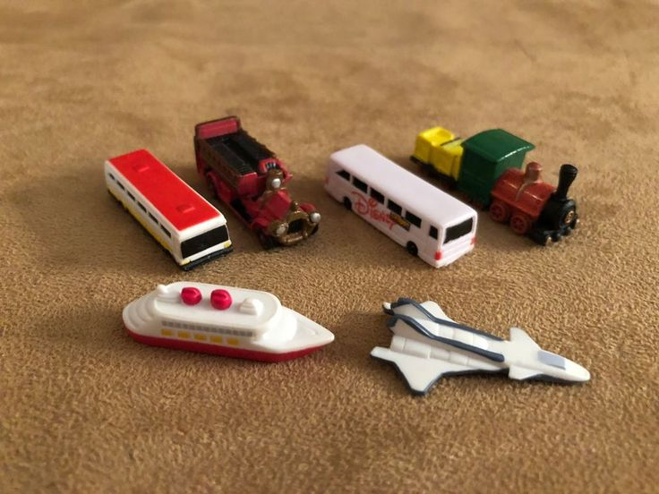 Theme Park Lot 6 Disney Collector Packs Transportation Series 5 Disneykin bus