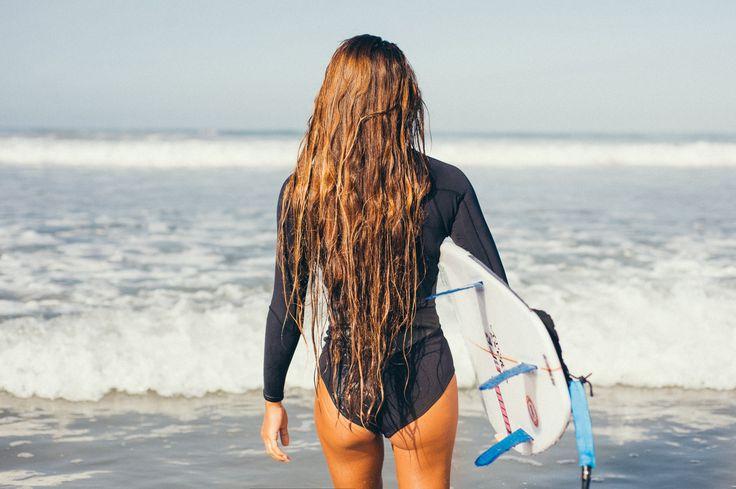 Salt hair, don't care!