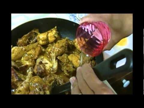 Belizean Curried Chicken