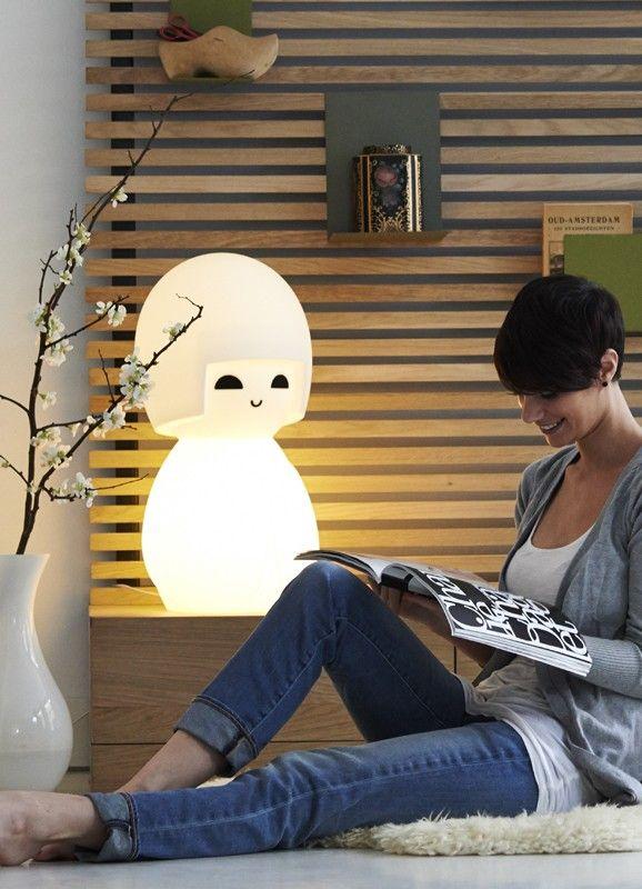 Mr. Maria Kokeshi Doll Lamp