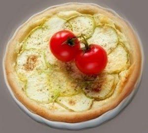 Эликсир молодости: Пирог с заварным кремом, кабачком и козьим сыром