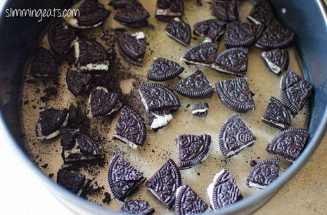 Baked Oreo Cheesecake | Slimming Eats - Slimming World Recipes