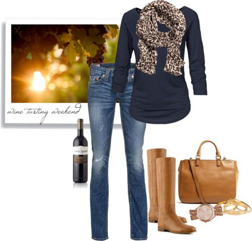 I don't drink wine but I love this outfit