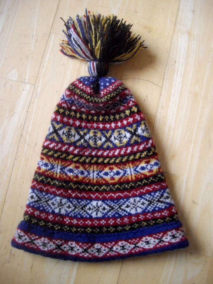 Fair Isle Knitting Hat : Best shetland cap images on pinterest crocheted hats