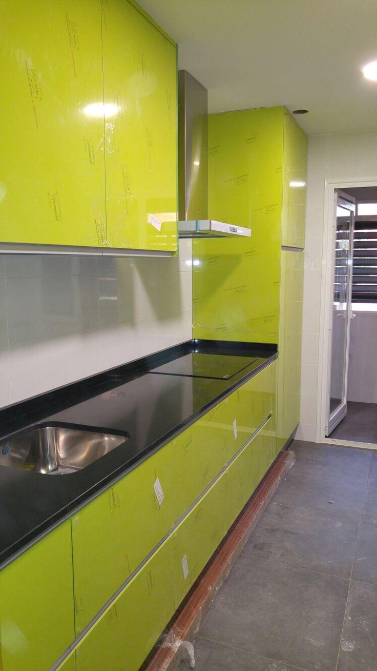 Muebles Cocina Verde Oliva : Cocina ar verde muebles de edymar cocinas