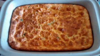 Mundo Vegetariano da Rosana: Omelete de Queijo no Forno